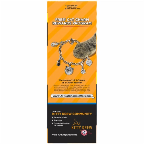 Arm & Hammer Super Scoop Fragrance Free Clumping Cat Litter Perspective: right