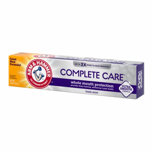 Arm & Hammer CompleteCare Fresh Mint Fluoride Anticavity Toothpaste Perspective: right