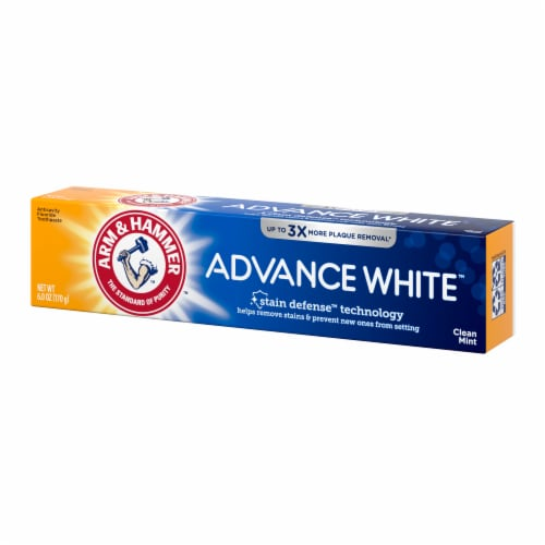 Arm & Hammer Advance White Clean Mint Toothpaste Perspective: right