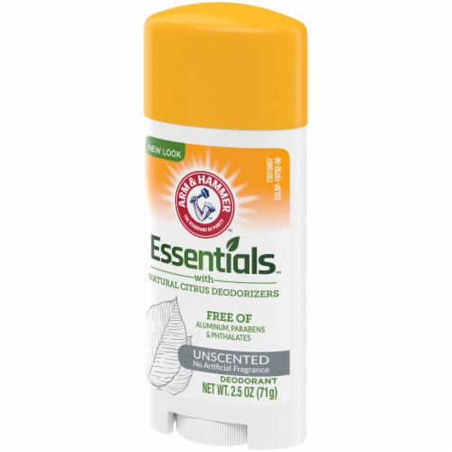 Arm & Hammer Essentials Unscented Natural Deodorant Perspective: right
