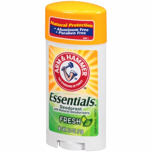 Arm & Hammer Essentials Fresh Deodorant Perspective: right