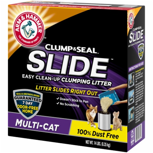 Arm & Hammer Slide Multi-Cat Clumping Litter Perspective: right