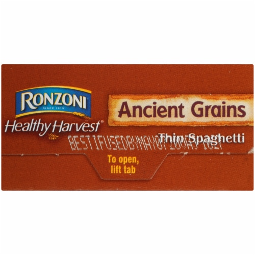 Ronzoni Healthy Harvest Ancient Grains Thin Spaghetti Perspective: right