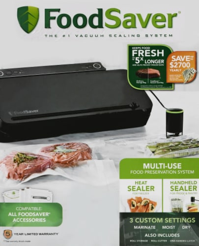 FoodSaver Vacuum Food Preservation Sealing System Perspective: right