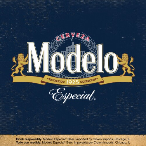 Modelo Especial Mexican Lager Beer Perspective: right