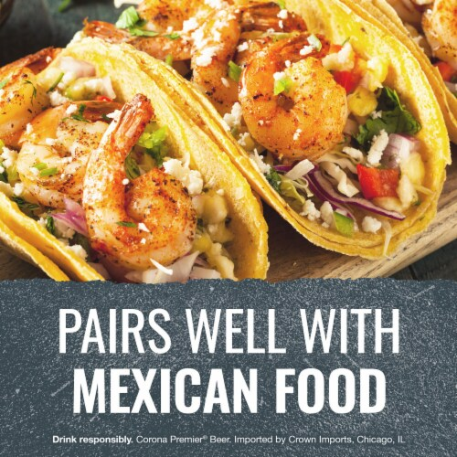 Corona Premier Mexican Lager Beer Perspective: right