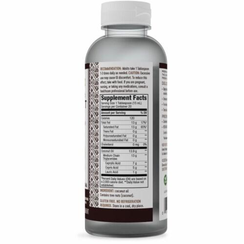 Nature's Way Liquid Coconut Premium Oil Perspective: right