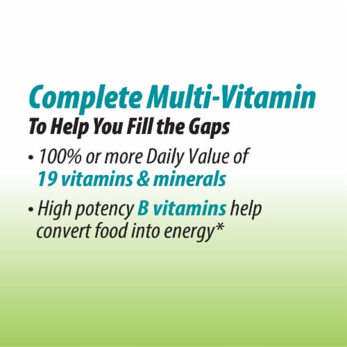 Nature's Way Alive! Garden Goodness Men's Multi-Vitamin Tablets Perspective: right