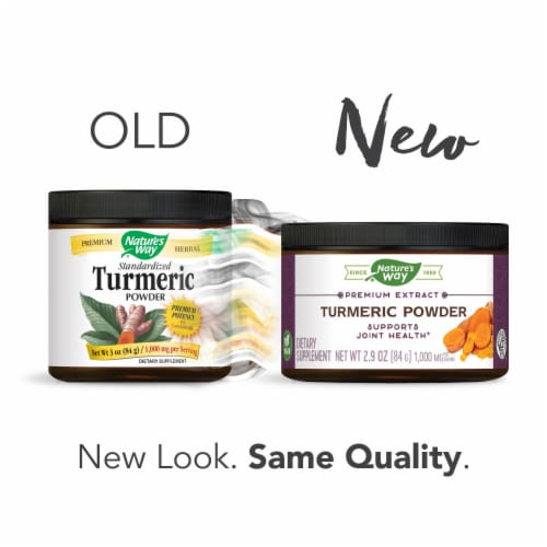 Nature's Way Turmeric Powder Perspective: right