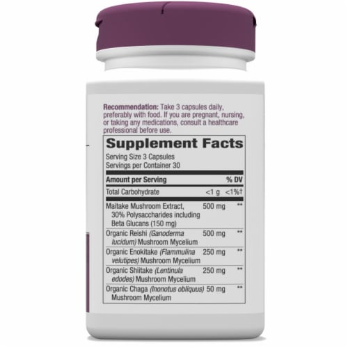 Nature's Way Immune Blend Capsules Perspective: right