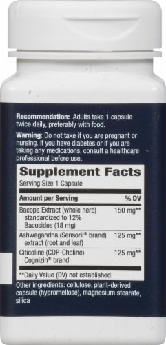 Nature's Way Clear Thinking Dietary Supplement Perspective: right