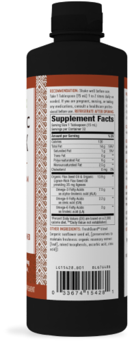 Nature's Way® Super Lignin Organic Flax Oil Perspective: right