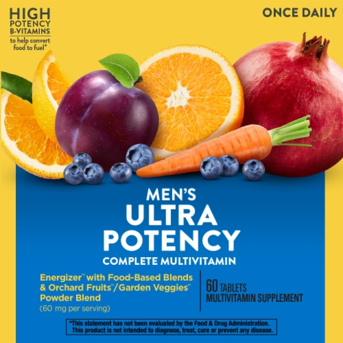 Nature's Way Alive! Once Daily Men's Ultra Potency Multivitamin Perspective: right