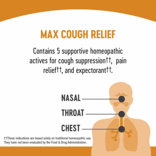 Nature's Way Umcka Cough Max Relief Soothing Syrup Perspective: right