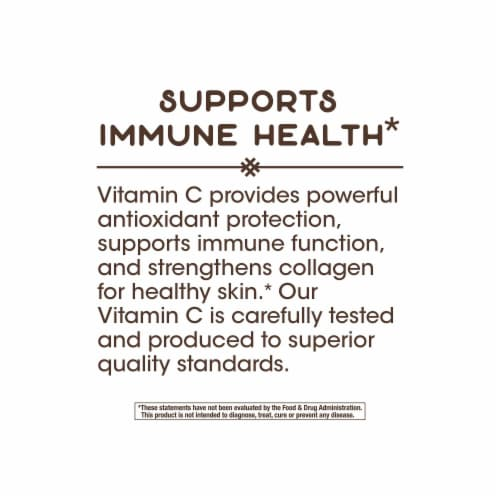 Nature's Way Vitamin C with Rose Hips Capsules 1000mg Perspective: right