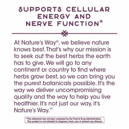 Nature's Way B-Stress Formula Capsules Perspective: right