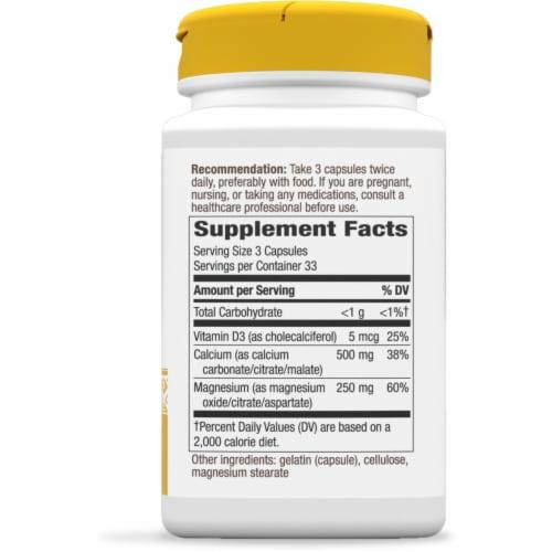 Nature's Way Calcium Mag &  D Bones & Muscle Capsules Perspective: right