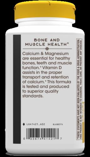 Nature's Way Calcium Magnesium & D Complex Capsules Perspective: right