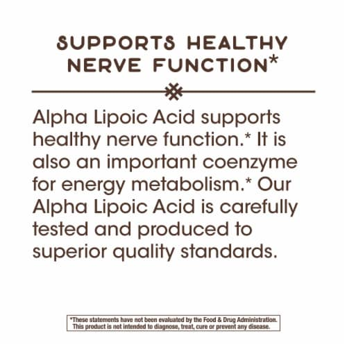 Nature's Way Alpha Lipoic Acid + Rosemary Capsules Perspective: right