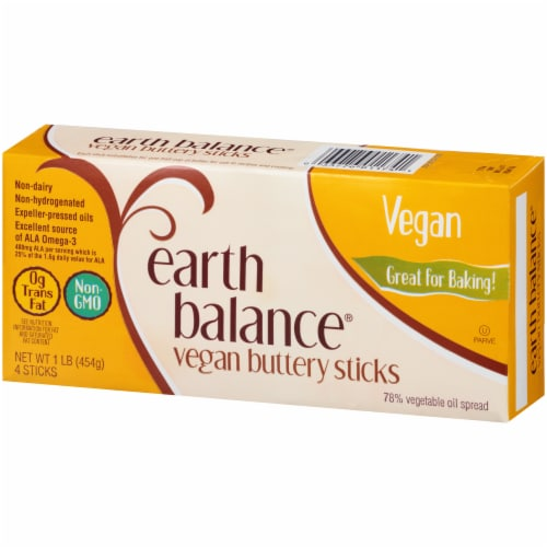 Earth Balance Vegan Buttery Sticks Perspective: right