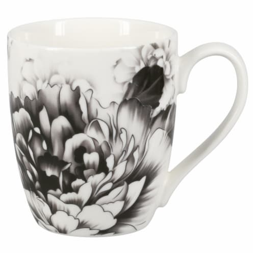 BIA Cordon Bleu Peony Mug Set - Gray Perspective: right