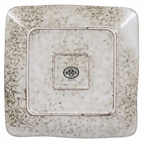 BIA Cordon Bleu Rustico Square Salad/Dessert Plate Perspective: right