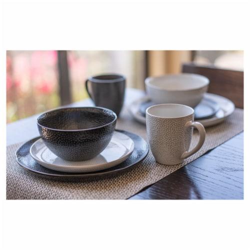 BIA Cordon Bleu Serene Dinner Plates Set - Black Perspective: right