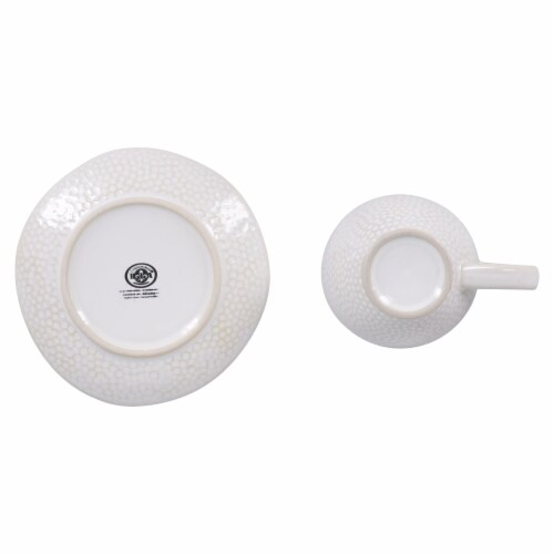 BIA Cordon Bleu Serene Demitasse Cup and Saucer Set - Crème Perspective: right