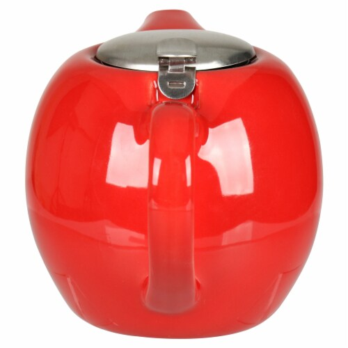 BIA Cordon Bleu Ooh La La Teapot with Stailess Steel Infuser - Red Perspective: right