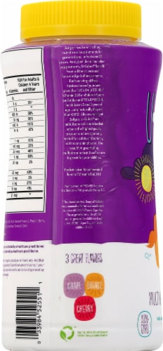 Solgar U-Cubes Multi-Vitamin & Mineral Gummies Perspective: right