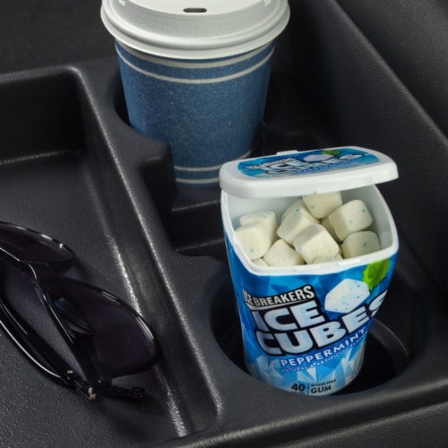 Ice Breakers Ice Cubes Peppermint Sugar Free Gum Perspective: right
