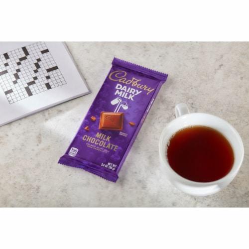 Cadbury Dairy Milk Chocolate Bar Perspective: right