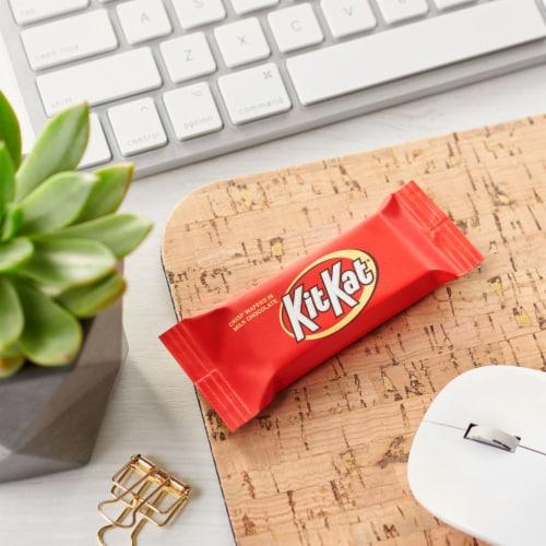 Kit Kat® Snack Size Crisp Wafer Bars in Milk Chocolate Perspective: right