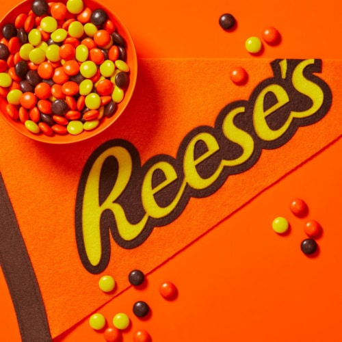 Reese's Pieces Peanut Butter Candy Big Box Perspective: right