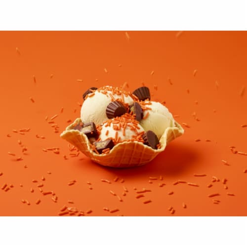 Reese's Minis Unwrapped Peanut Butter Chocolate Candy Perspective: right