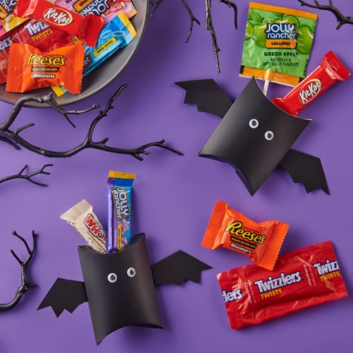 Hershey's Reese's, Jolly Rancher, Twizzlers, Whoppers, and Kit Kat® Candy Assortment Perspective: right