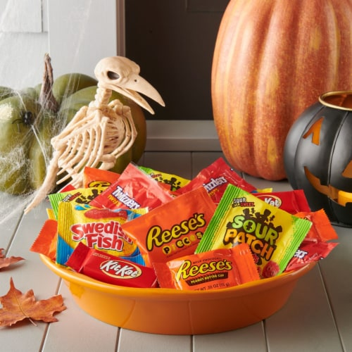 Hershey All-Time Greats Snack Size Halloween Candy Assortment Perspective: right