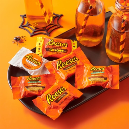 Reese's Halloween Lovers Snack Size Peanut Butter Cups Assortment Perspective: right