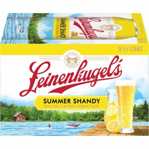 Leinenkugel's Summer Shandy Weiss Beer Perspective: right