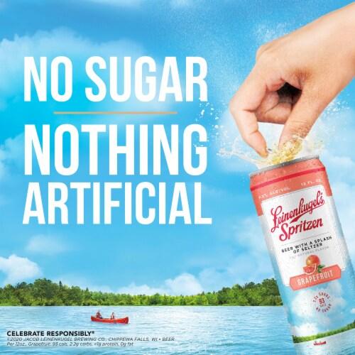 Leinenkugel's Spritzen Grapefruit Beer Perspective: right