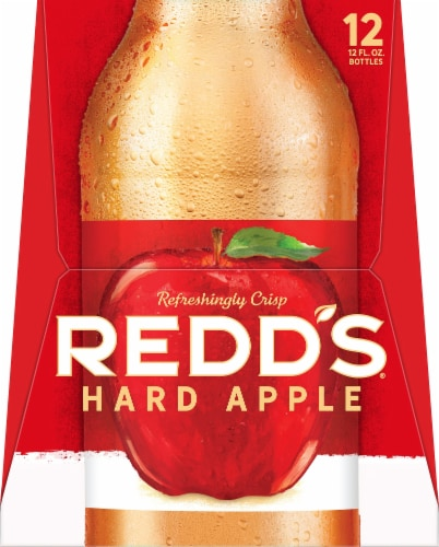 Redd's Apple Ale Beer Perspective: right