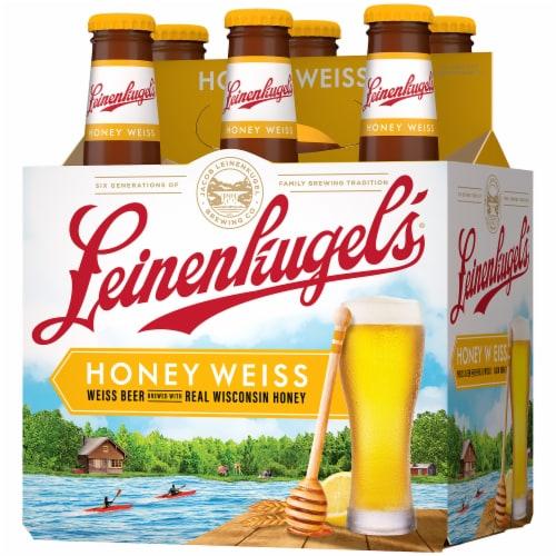 Leinenkugel's Honey Weiss Lager Beer Perspective: right