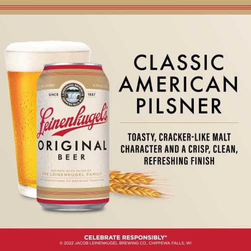 Leinenkugel's Original Ale Beer Perspective: right