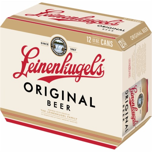 Leinenkugel's Original Ale Beer 12 Cans Perspective: right