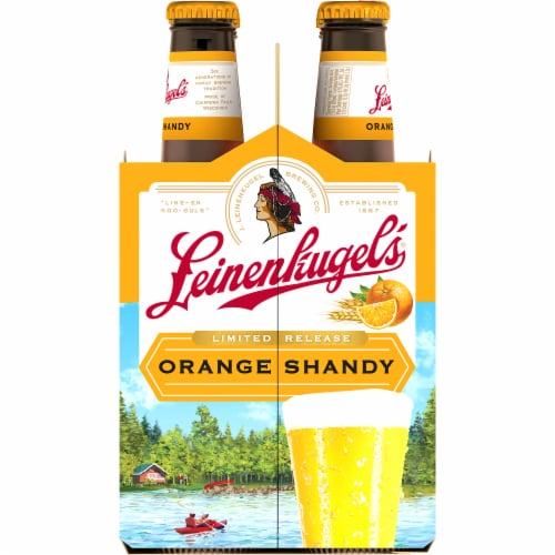 Leinenkugel's Orange Shandy Beer Perspective: right