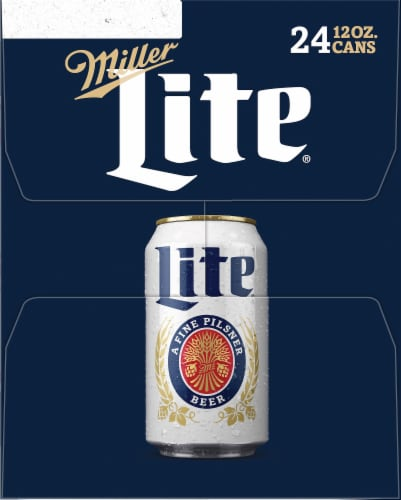 Miller Lite American Lager Beer Perspective: right