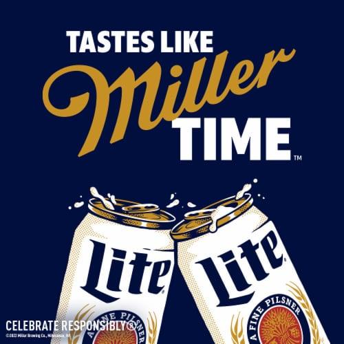 Miller Lite Pilsner Beer Perspective: right