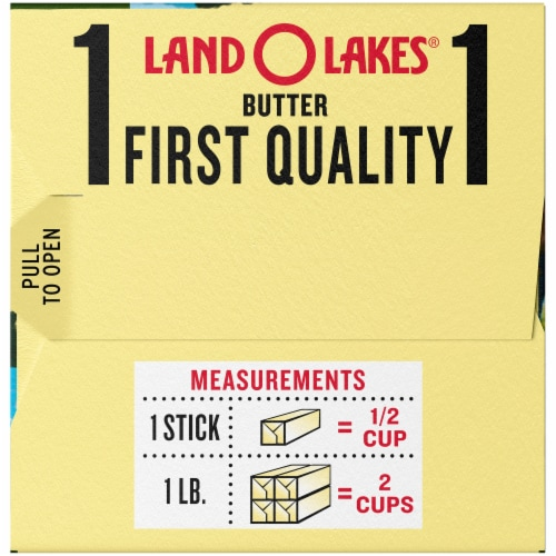 Land O' Lakes Salted Butter Sticks Perspective: right