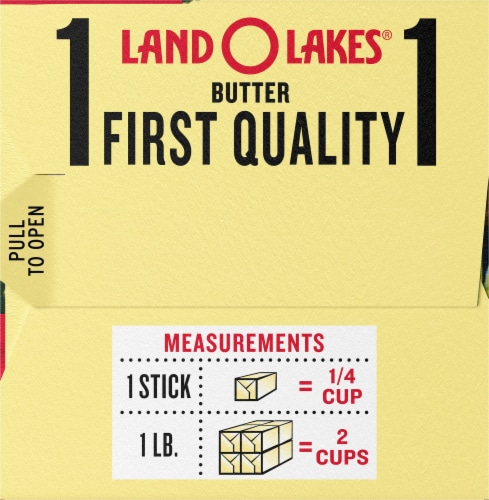 Land O' Lakes Half Stick Salted Butter Perspective: right