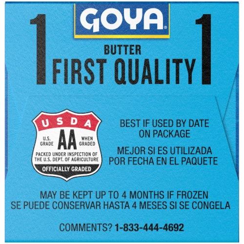 Goya Salted Butter Sticks Perspective: right